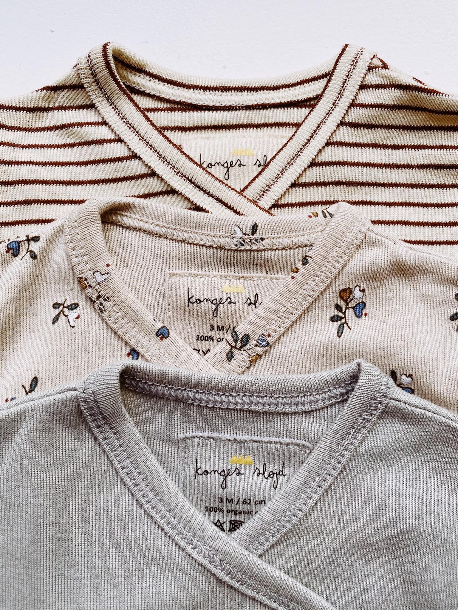set van 3 overslagrompers - petit amour / stripes / blue-3