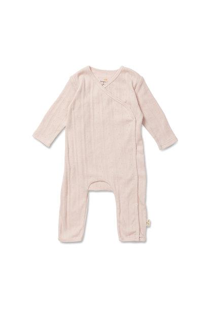 newborn pakje minnie onesie - lavender mist