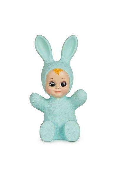 bunny baby lamp mint