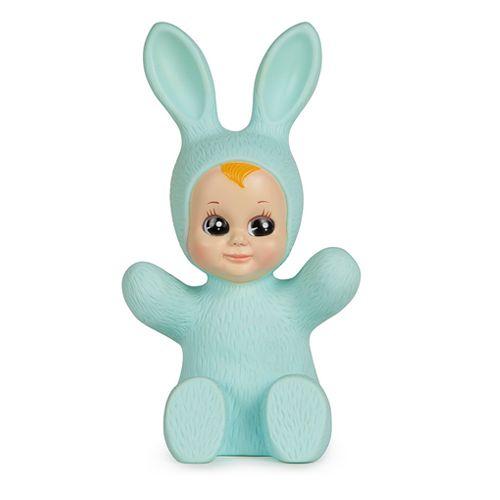 bunny baby lamp mint-1