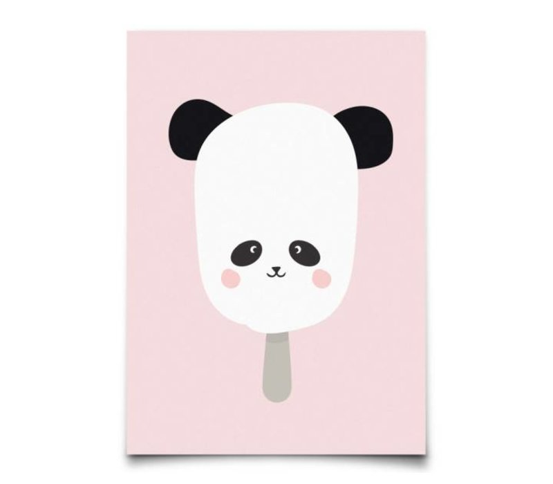 Panda pop kaart