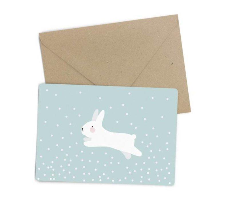 white rabbit kaart