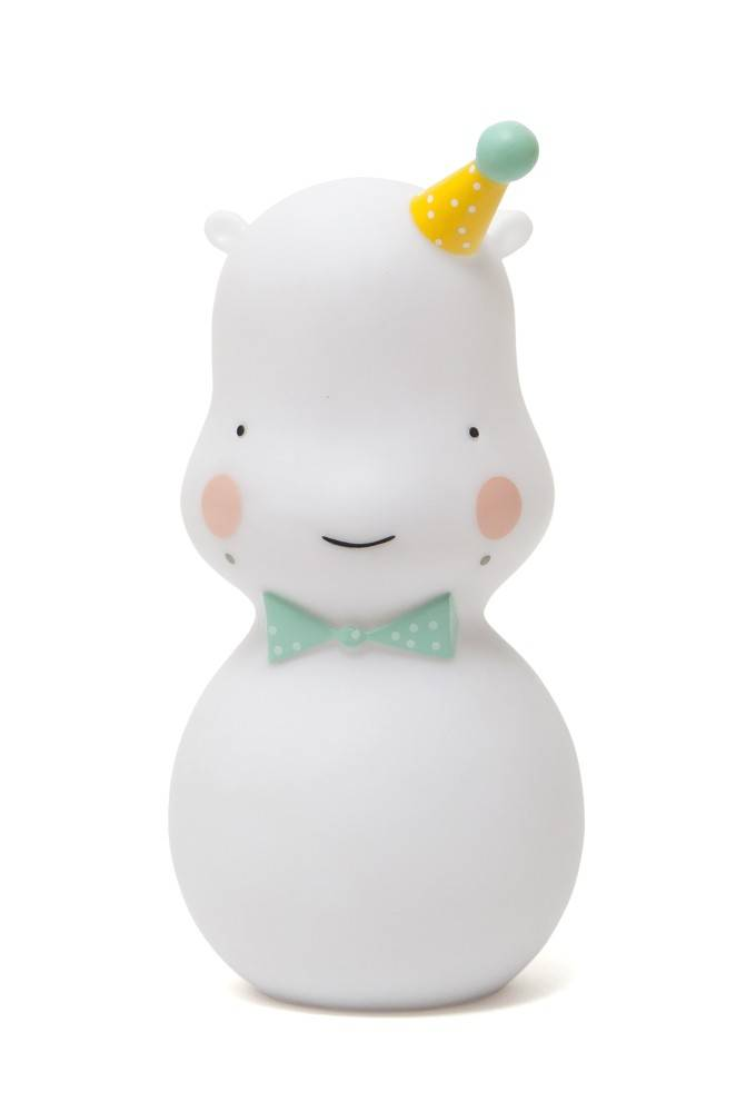 hippo nightlight - white-1