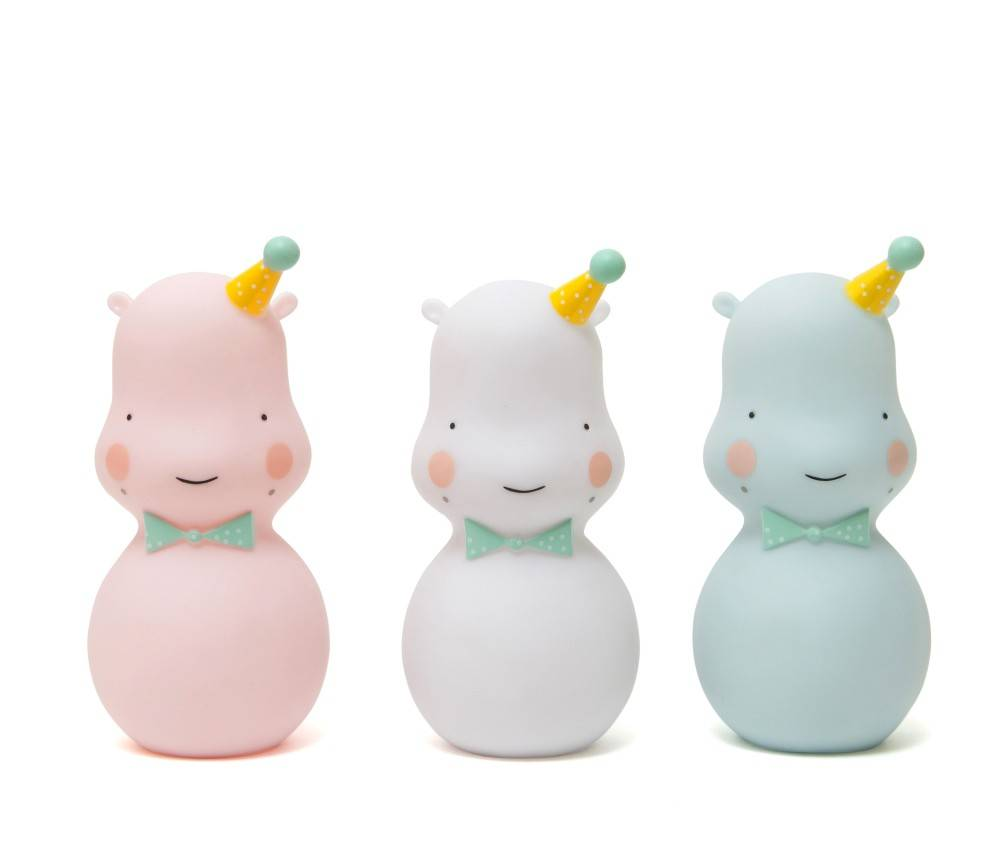 hippo nightlight - white-3