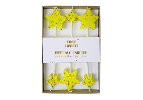 Meri Meri toot sweet star candles