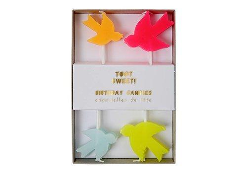 Meri Meri toot sweet bird candles