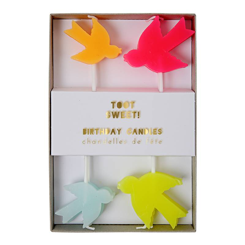 toot sweet bird candles-1