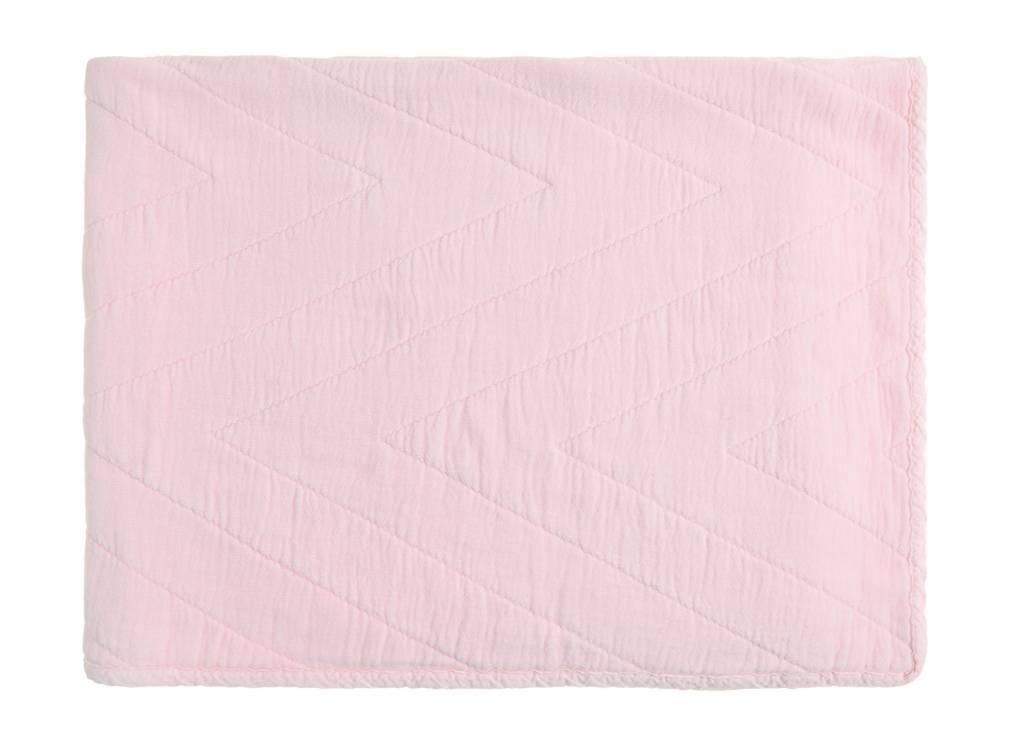 baby quilt eugenie - pink 80x100-1