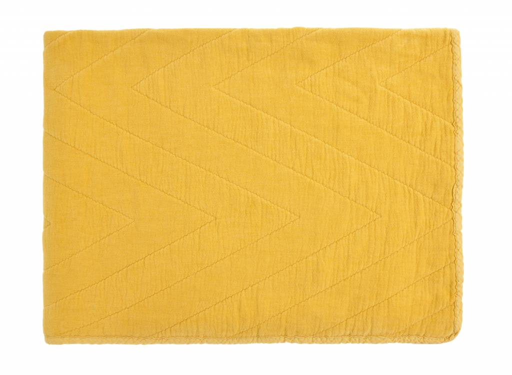 quilt eugenie - yellow 80x100-1