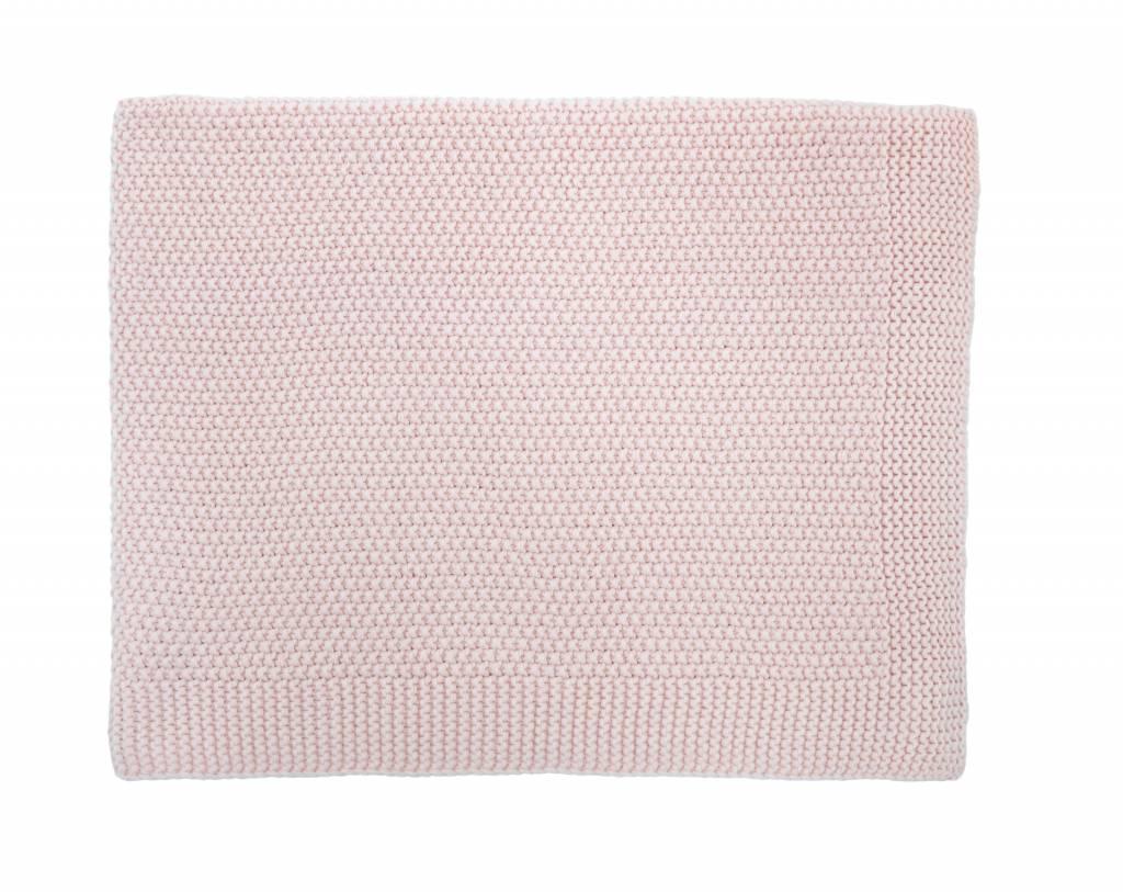 baby big bou blanket - light pink 75x100-1