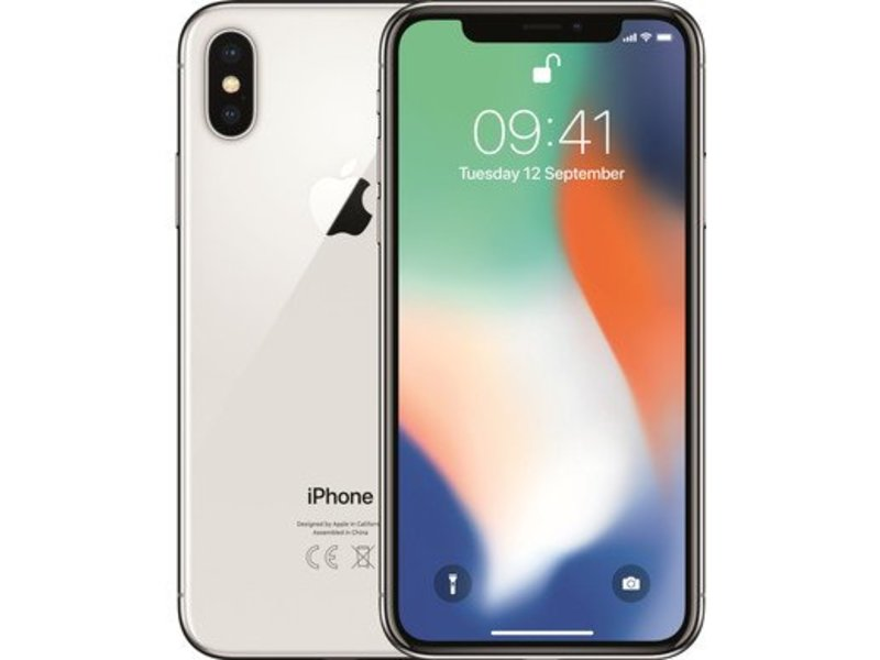 Apple iPhone X Zilver 64gb 4G