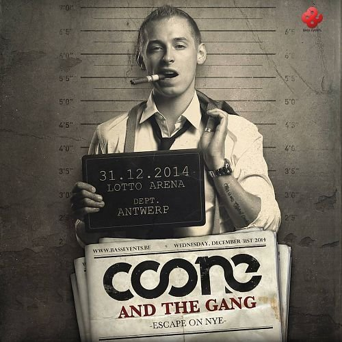 Coone & The Gang  - Escape On NYE  CD
