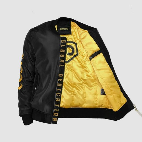 Black & Gold Global Dedication Bomber