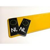 Zwarte NL Sticker