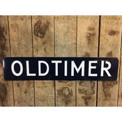 Oldtimer plaat 52x11