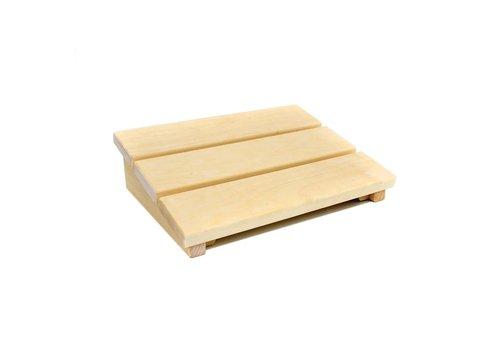 Hoofdsteun Abachi hout
