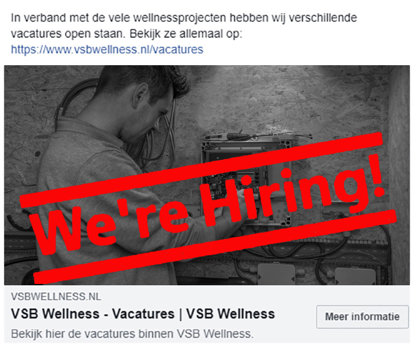 We`re Hiring! Kom jij ons team versterken?