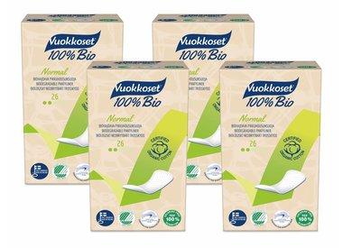 Organic sanitary napkins & panty liners