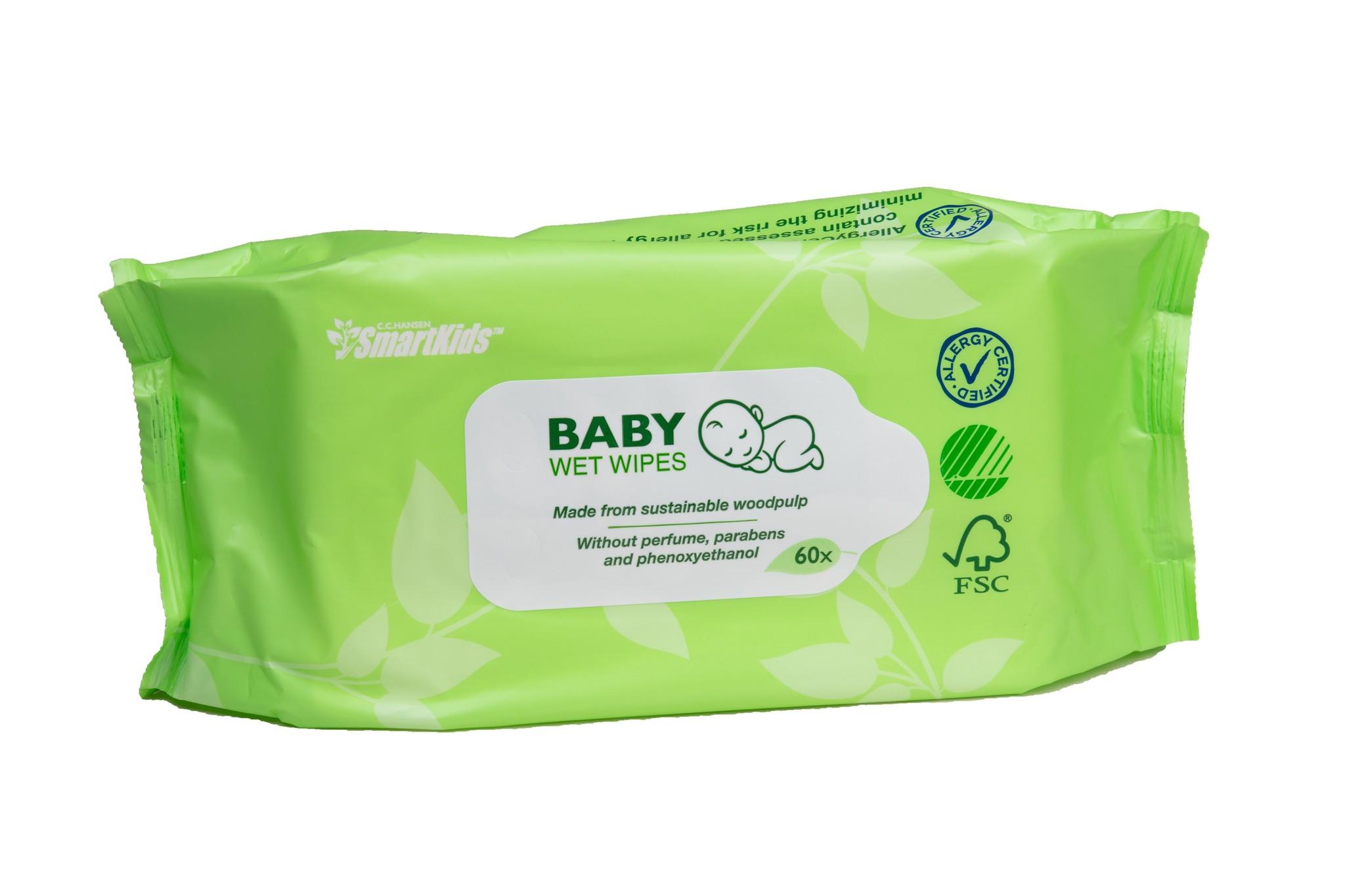 Smartkids Smartkids Eco Baby Billendoekjes - losse verpakking