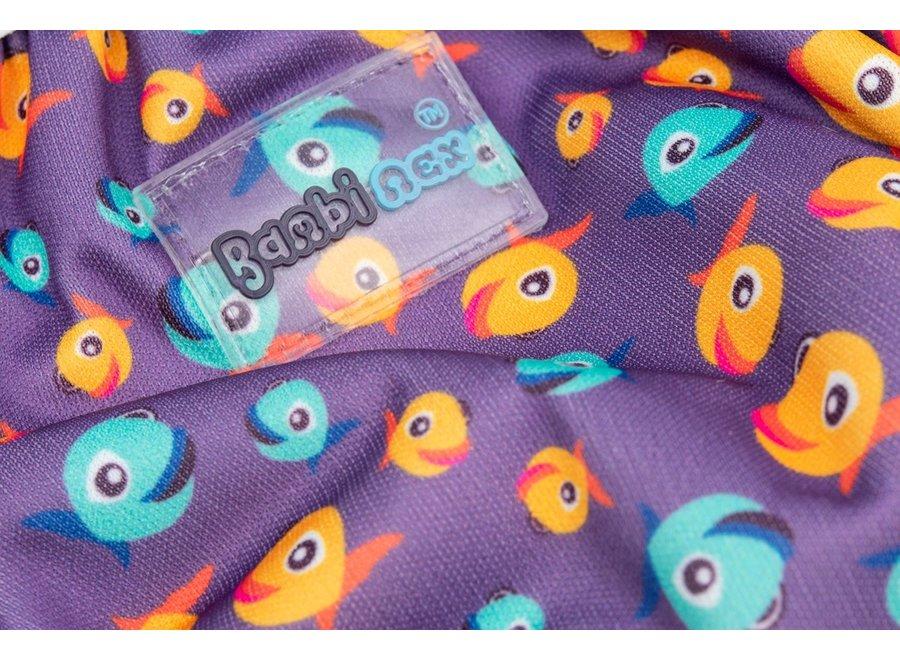Zwemluier & Oefenbroekje Lucky Purple - 2 stuks