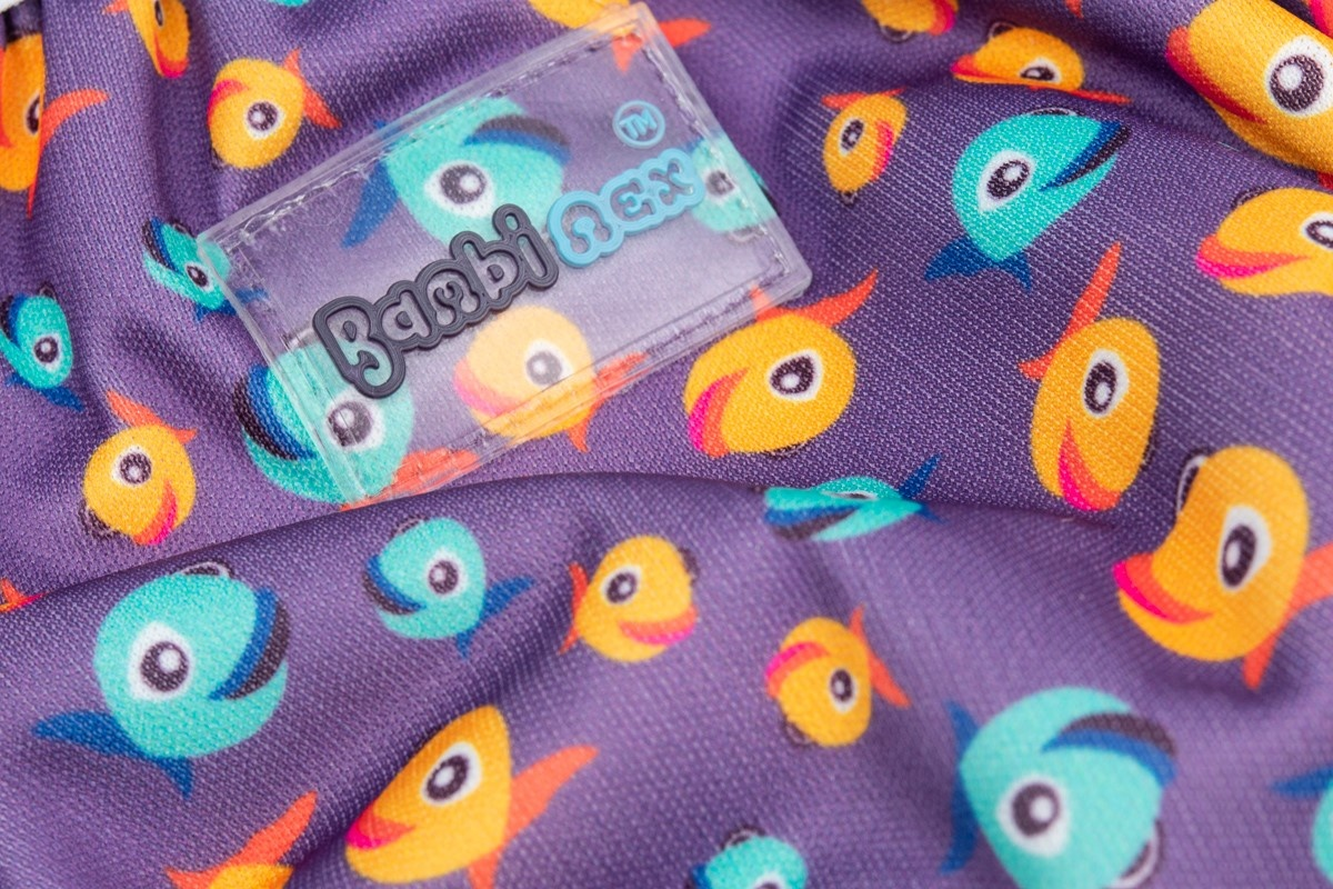Bambinex Swimming Diaper & Training Pants Lucky Purple 2-pack