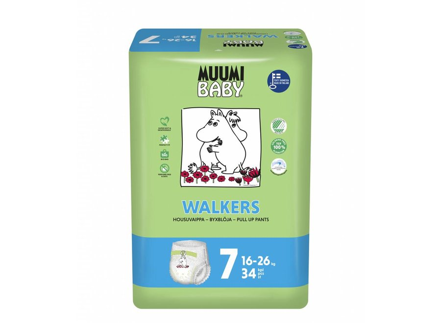 Eco Diaper Pants - size 7 - 16 to 26 kg