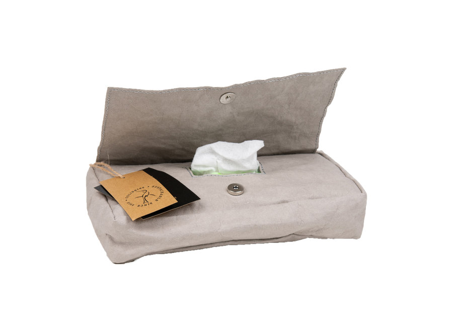 Colibries Birch Hoes voor Baby Wipes - Stone