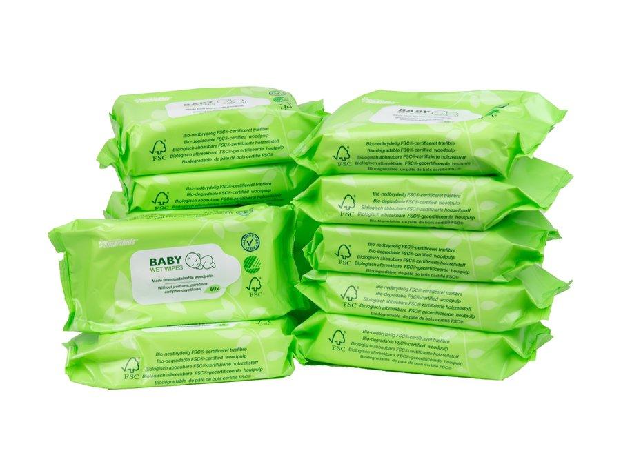 SmartKids Eco wipes - 12 x 60 wipes
