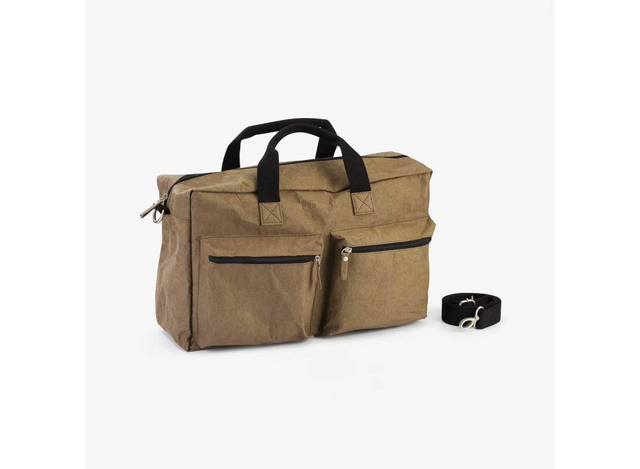 Colibries Chestnut Weekend Bag - Taupe