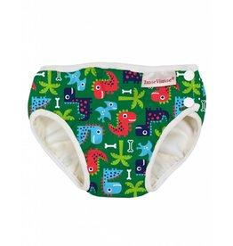 ImseVimse Swim Diaper -  Green Dino