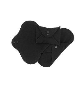 ImseVimse ImseVimse inlegkruisjes wasbaar met drukknoopjes - 3 stuks - zwart