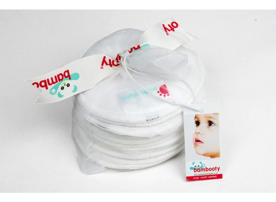 Bambooty Booby Washable Nursing Pads - Night - 12 pieces