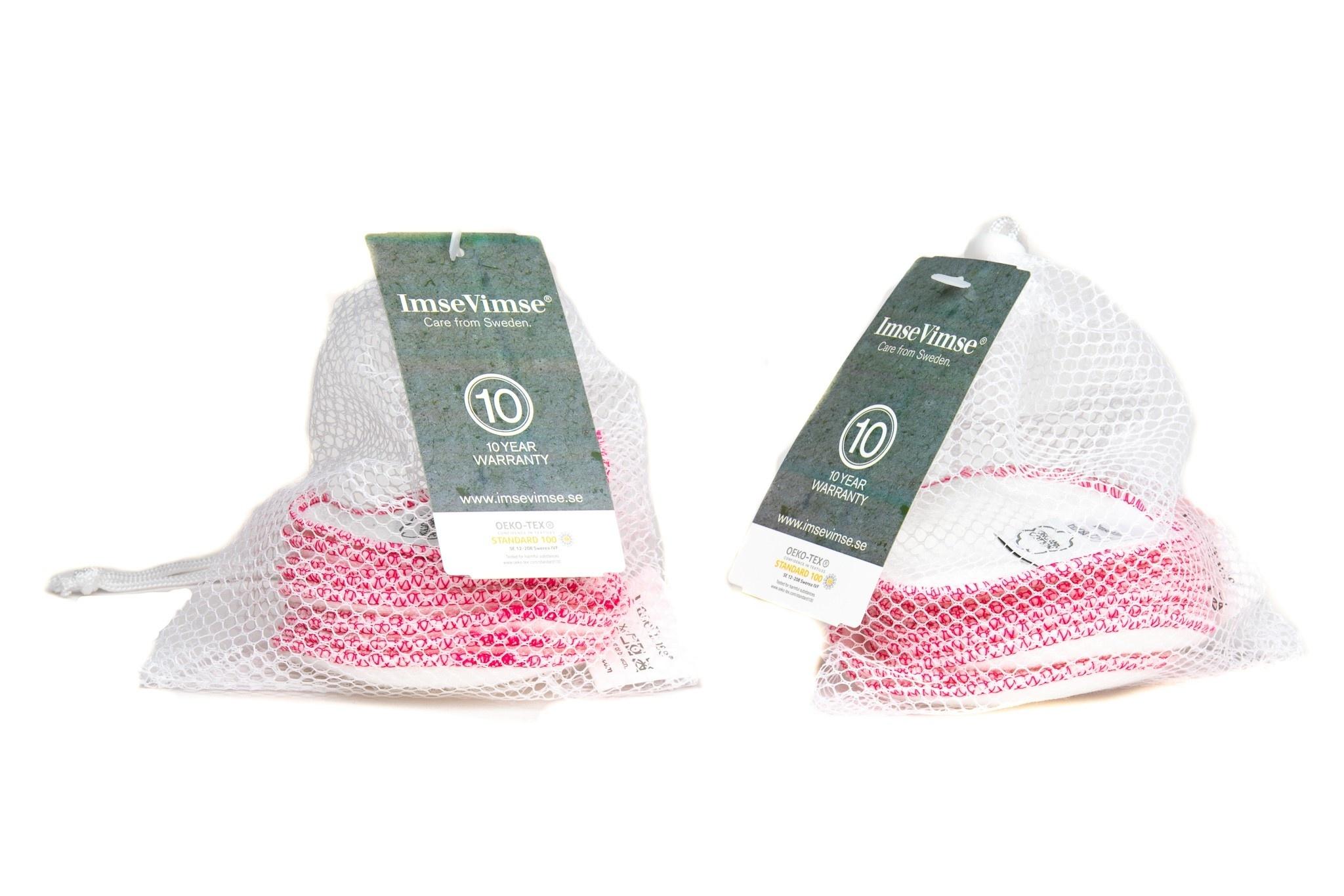 ImseVimse ImseVimse Wasbare Reinigingspads - voordeelverpakking - 2 kleuren