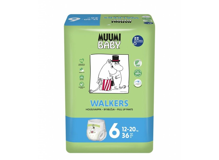 Eco diaper pants - size 6 - 12 to 20 kg