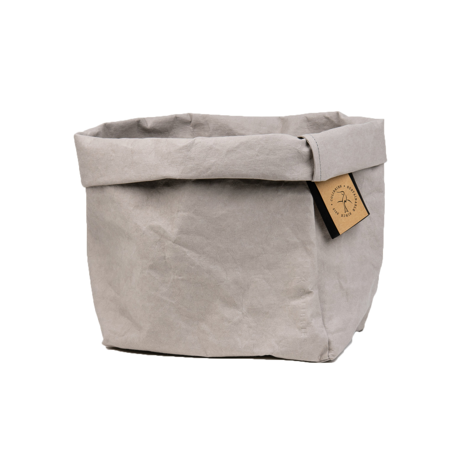 Colibries Colibries Cherry Storage Basket - large - Stone