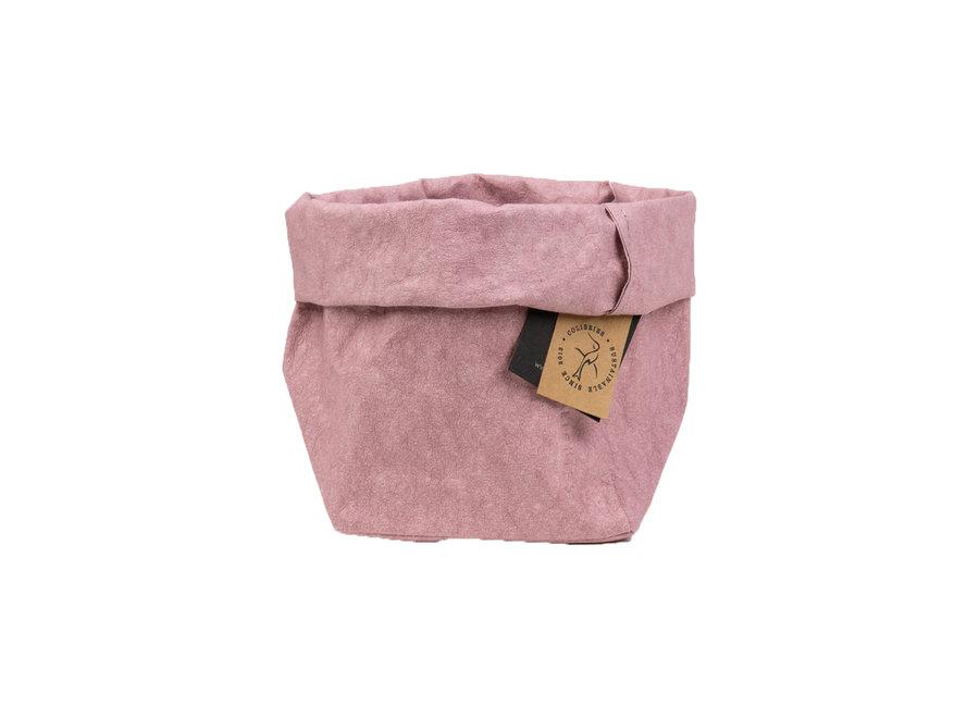 Colibries Plume Storage Basket - Pink