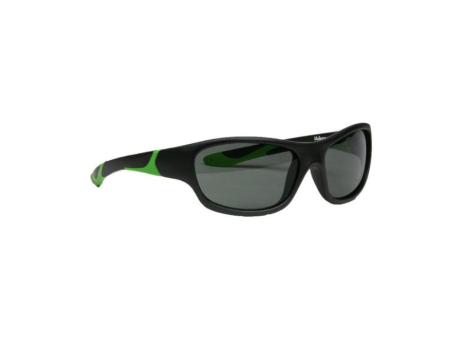 Melleson Children's Sunglasses - 3-8 years - Black Green