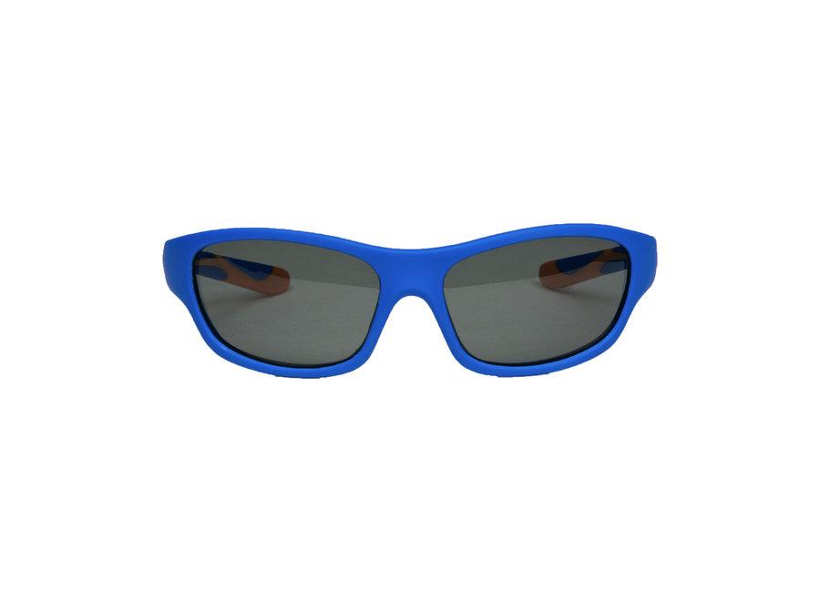 Melleson Eyewear junior sunglasses blue orange - child 3-8 years - children's sunglasses