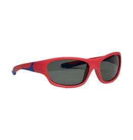 Melleson Eyewear Melleson Eyewear junior zonnebril rood blauw  - kind 3-8 jaar - kinderzonnebril