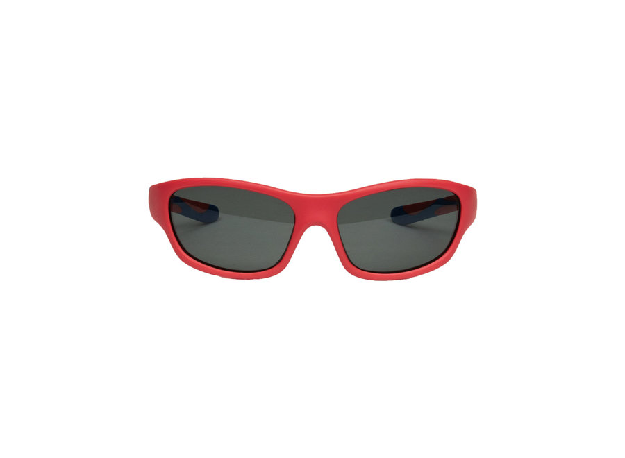 Melleson Eyewear junior sunglasses red blue - child 3-8 years - children's sunglasses