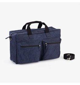 Colibries Colibries chestnut tas Navy - weekendtas - luiertas - verzorgingstas - duurzaam - wasbaar papier - blauw