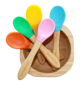 Eco Rascals Bamboo spoons - set of 3