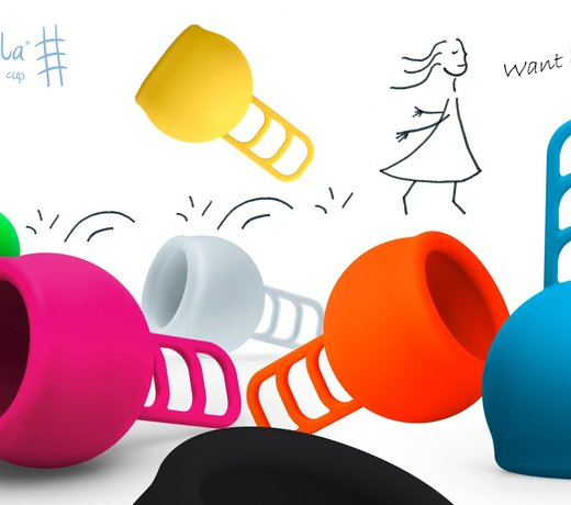 Menstrual Cups - sustainable, colourful and without chemicals