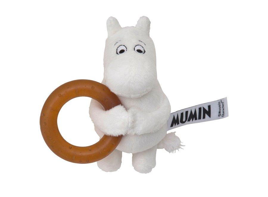 Moomin bijtring van natuurlijk rubber