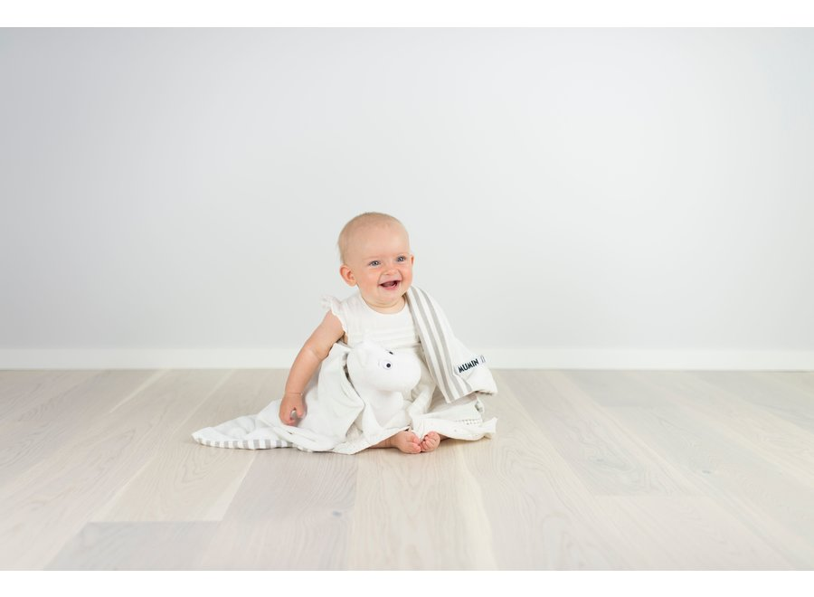 Moomin cuddle cloth (washable) - large (70 x 70 cm)