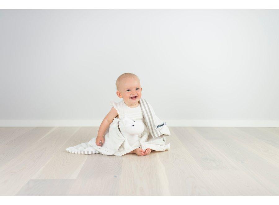 Moomin knuffeldoek (uitwasbaar) - groot (70 x 70 cm)