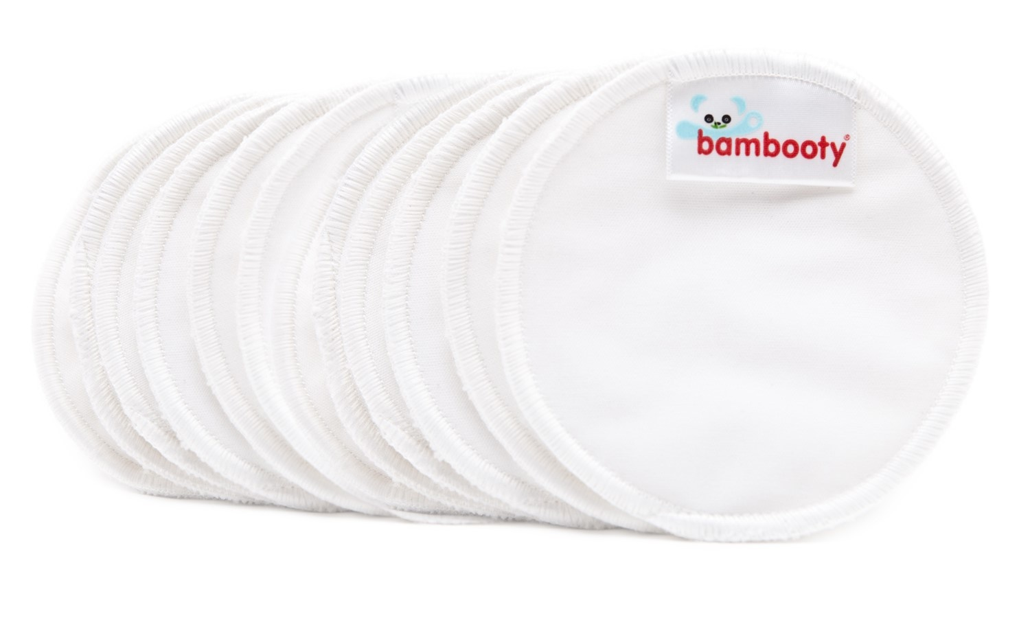 Bambooty Bambooty Booby Washable Nursing Pads- Day - 12 pieces
