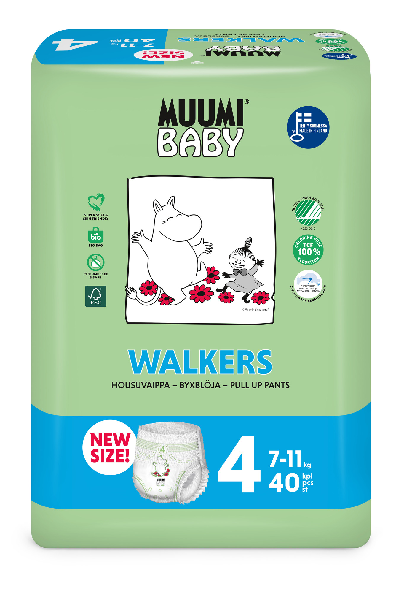 Muumi Baby Muumi Baby Eco Disposable diapers and nappy pants - Copy - Copy - Copy - Copy - Copy