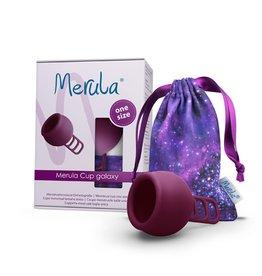 Merula Merula menstruatiecup  - galaxy paars - Nieuw!