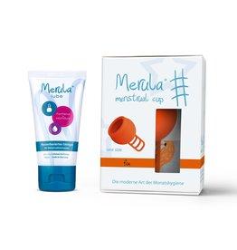 Merula Merula cup with Merula lube - fox orange